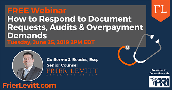 How to Respond to Document Requests, Audits & Overpayment Demands